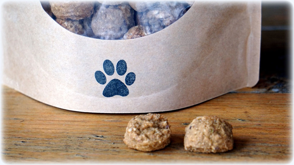 Ranch Dog Treats ~ Oatmeal Honey Chia