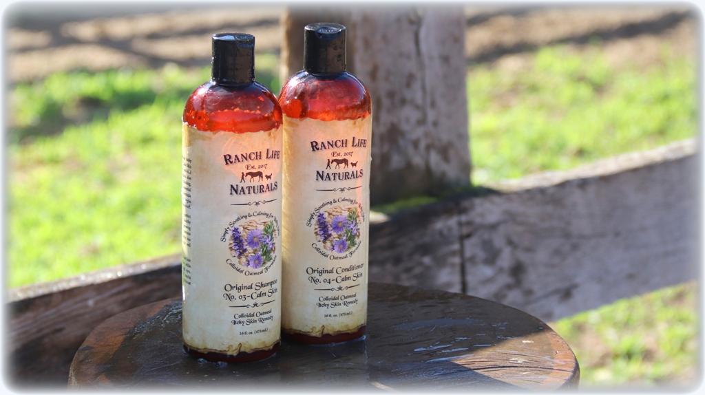 Shampoo & conditioner calm skin set