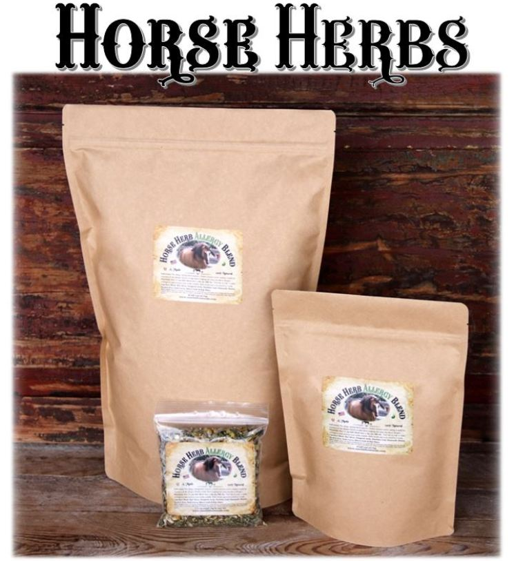 Wellness Herbs For Horses